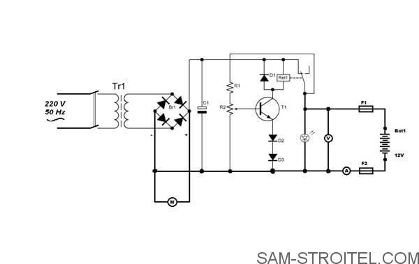 Как собрать зарядное устройство для аккумулятора – Зарядное устройство для автомобильного аккумулятора своими руками